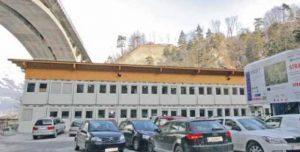 Строительный офис базисного туннеля на Бренерском перевале
