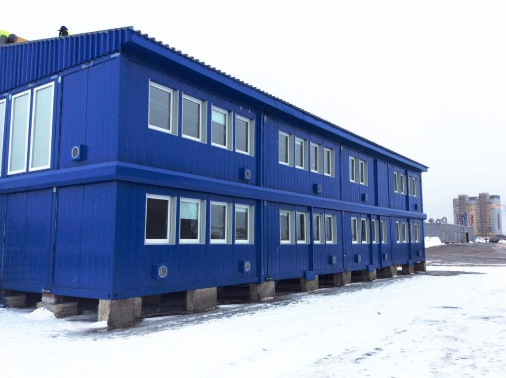Аренда офисных зданий и сооружений Containex