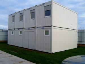 Строим быстровозводимые модульные здания из блок контейнеров Containex
