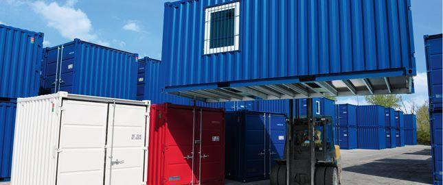 Поставка блок контейнеров Containex