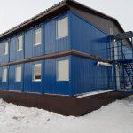 БГК - проектирование, изготовление, поставка, монтаж под «ключ» двух общежитий CONTAINEX на 250 мест.