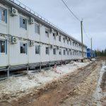 """Проектирование, монтаж модульных вагон-домов для организации проживания персонала численностью 500 человек на местонахождении «Благодатное» для АО """"Полюс Красноярск"""""""